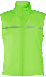 Gilet running antivento